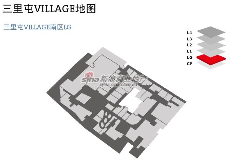 三里屯 平面图_三里屯Village__新浪商业地产_新浪网