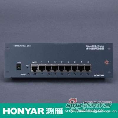 鸿雁9口宽带路由器(Cable\/DSL Router)HM10\/
