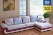 浪度现代皮布沙发
