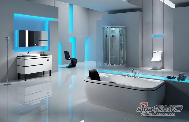 安华卫浴FIO菲尔系列淋浴房