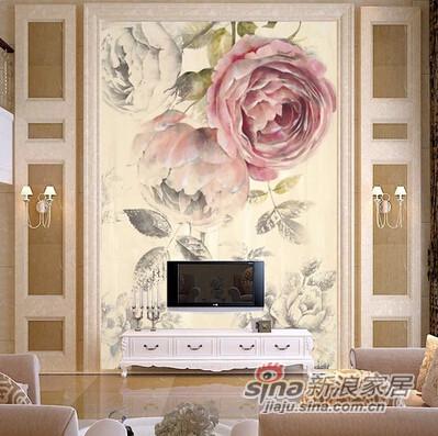 爱舍大型壁画 壁纸