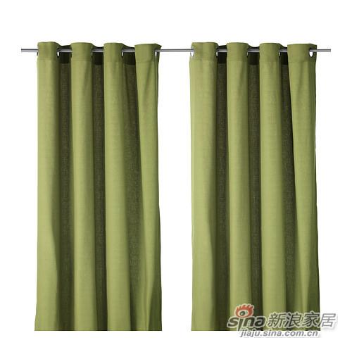 马瑞姆绿色清新窗帘