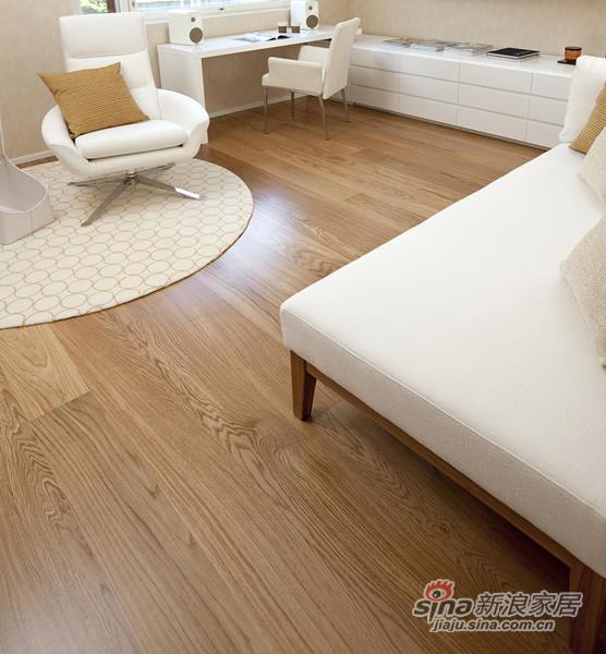 得高karelia三层实木地板 单拼橡木