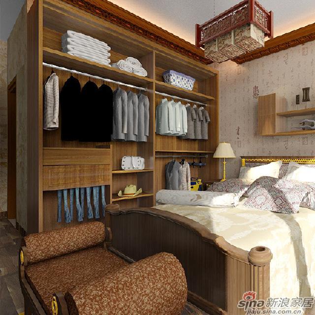 中式风格衣柜