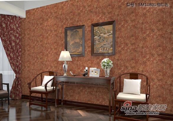 格莱美墙纸美国进口大花纯纸壁纸