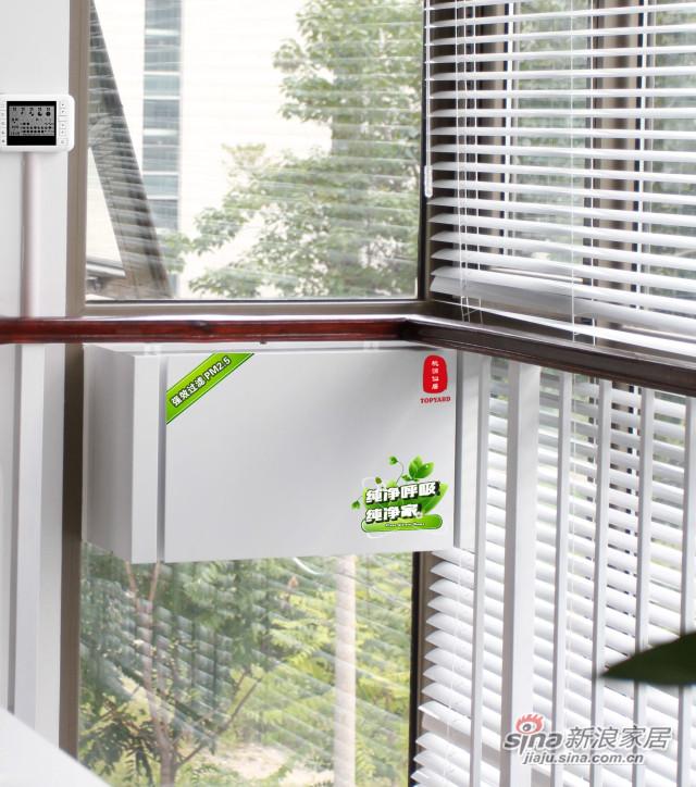 窗式通风净化系统