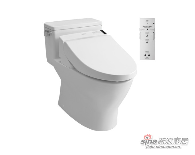 TOTO卫浴:一体型智能电子坐便器CES6531A