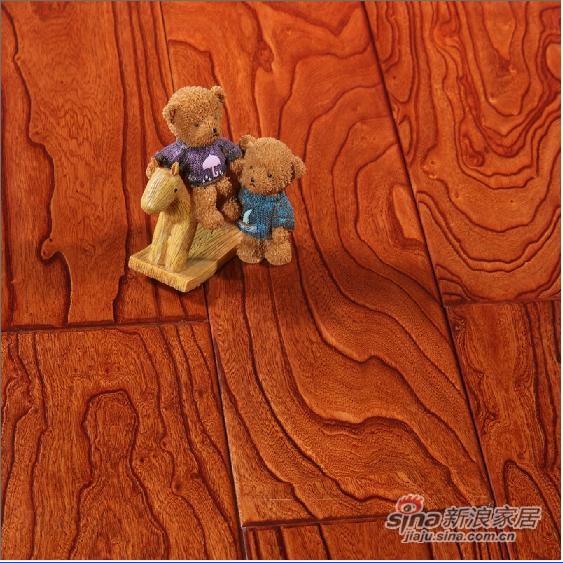 【永吉地板】实木仿古罗浮宫系列——榆木普罗旺斯