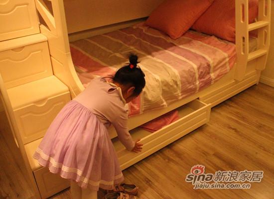 """""""星梦""""6507H青少年组合床-3"""