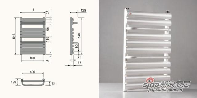 75*75铜铝复合散热器