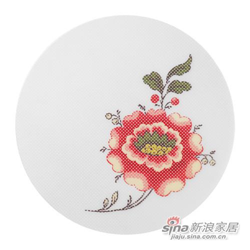 宜家英丹德花朵餐垫-1