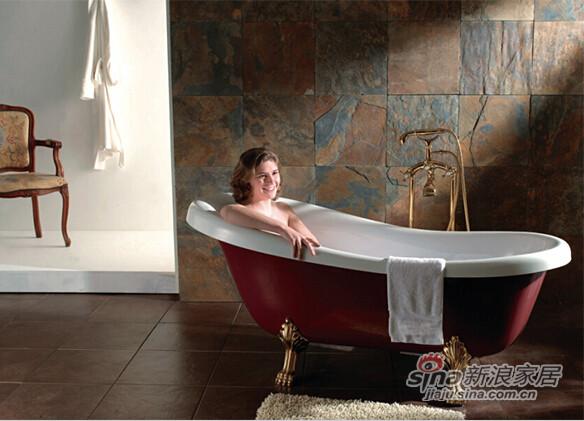 百德嘉卫浴古典贵妃缸H872103