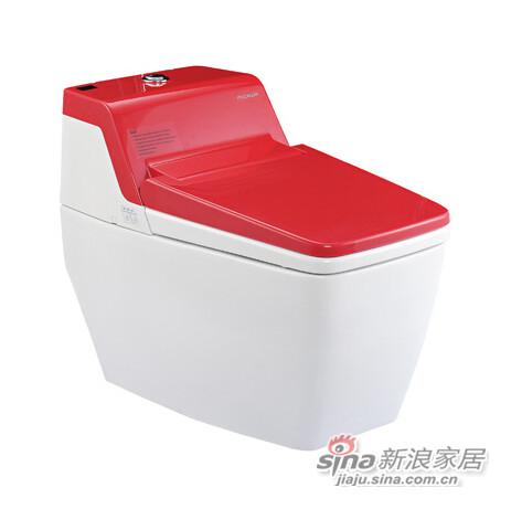 美加华卫浴MB-1881A(红)智能坐便器