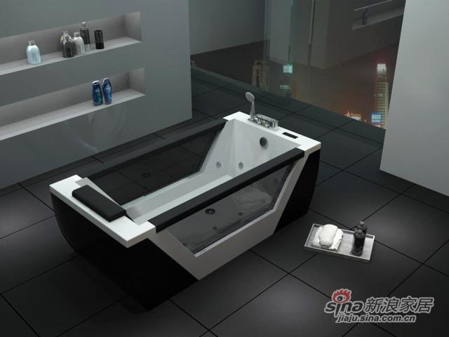 恒洁卫浴HY-688豪华按摩浴缸