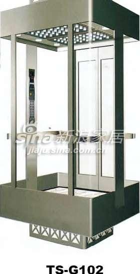 三星电梯观光电梯TS-G102