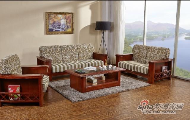 天坛新东方系列实木沙发