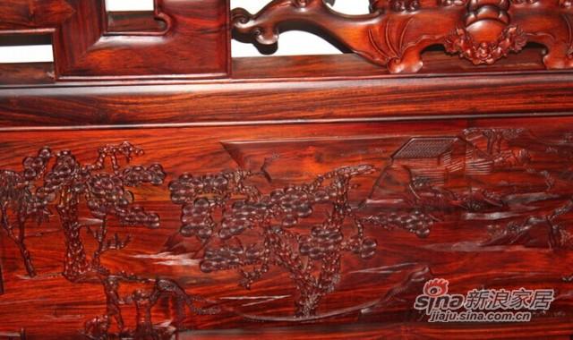 元亨利Q-S-0756-70雕人物罗汉床