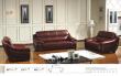 中山家私沙发系列之2s1232真皮沙发