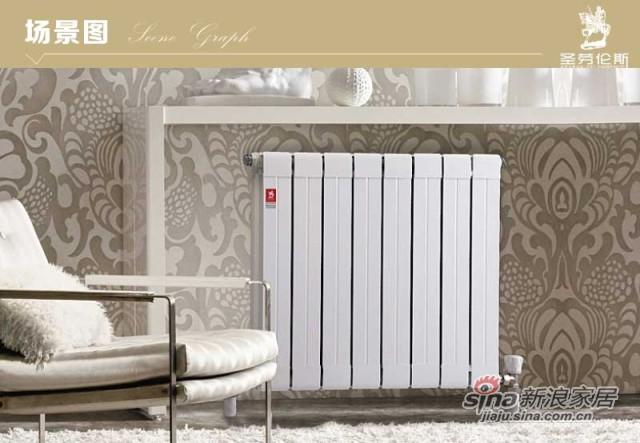 铜铝复合暖气片75*75
