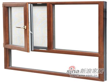 墨瑟门窗纯木窗