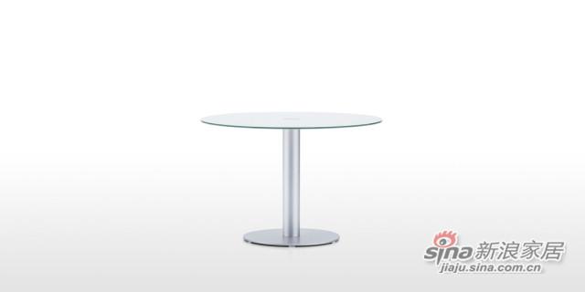 DFT6566 玻璃圆餐台-2
