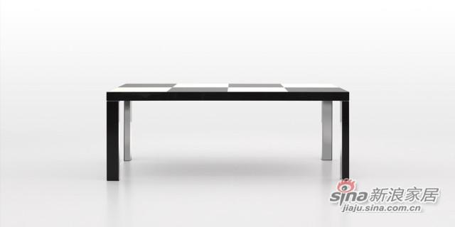 迪信DFT1500木面长方餐台-1