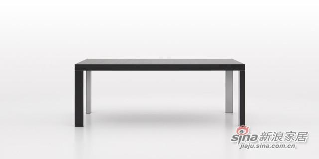 迪信DFT1500木面长方餐台-2