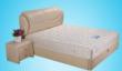 蓝鸟家具弹簧床垫 时尚床垫 可拆洗 白钻可定制环保3E棕