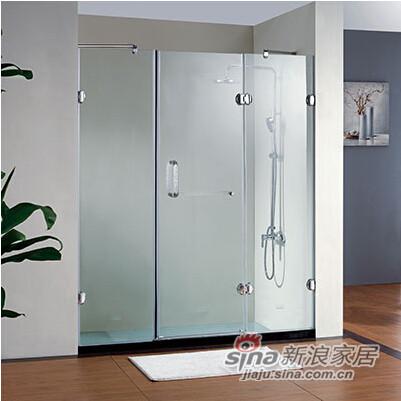 淋浴房无框合页系列-L0802(L-R)