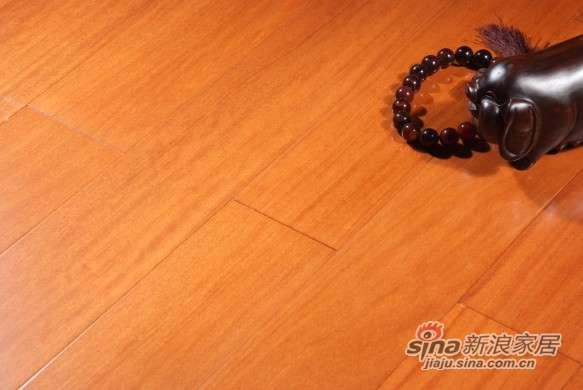 圣达地板本真实木系列—二翅豆本色