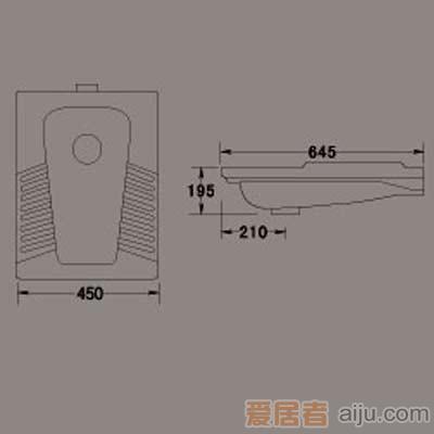 惠达蹲便器-HD43产品价格_图片_报价