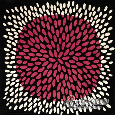 加勒沃多色短绒地毯-2