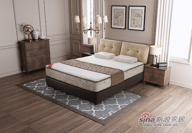 喜临门家具:睡美人床垫-吉娜-1