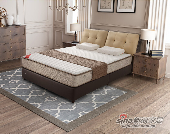 喜临门家具:睡美人床垫-吉娜-2