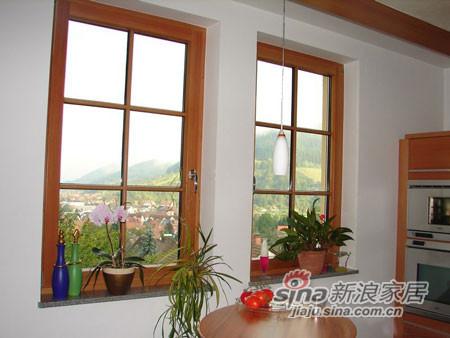 墨瑟门窗铝木复合门窗