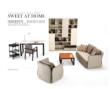 曲美家具 创意休闲沙发