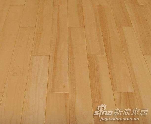 港星强化复合地板 橡胶木
