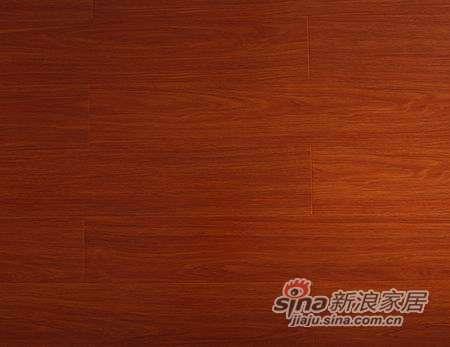 乐迈地板詹纳士系列Z-12强化复合地板-直纹金柚