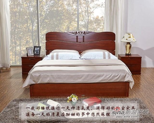 天坛实木床