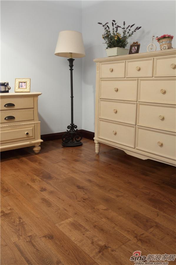 野生原木地板-栎木(白橡) DB9651P