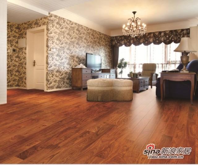 安信非洲花梨木实木地板