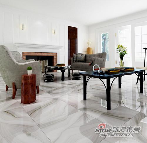 兴辉瓷砖金刚釉2代:浪花白1SG801005F