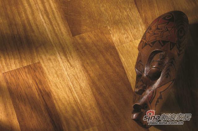 得高karelia三层实木地板 三拼绿柄桑-1