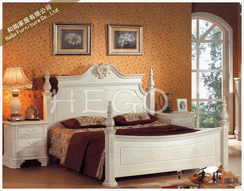 5米美式实木床仅售3660元(附实拍图片