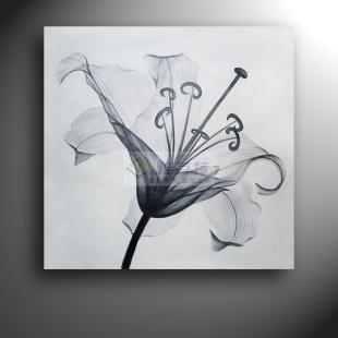 特油画 手绘 黑白装饰画 简约 无框画黑白画-手绘黑白装饰画图片 黑