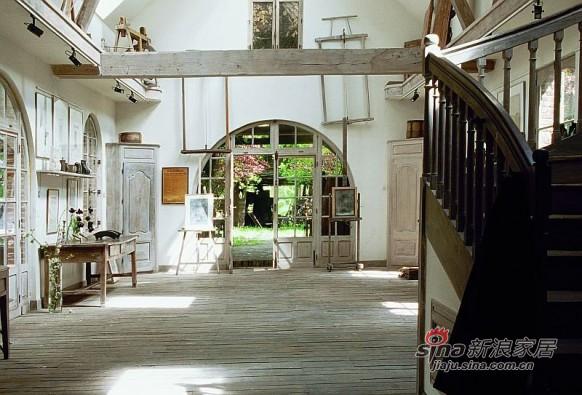 自然纯朴的法国乡间别墅设计