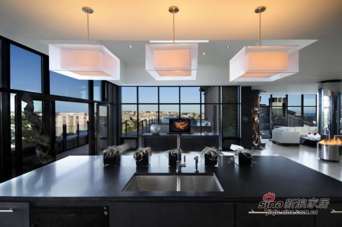 顶层豪华套房室内设计