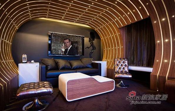 电影主题酒店个性设计