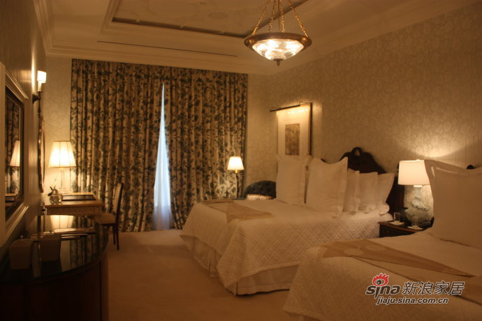 4万欧元一晚的豪华旅馆客房