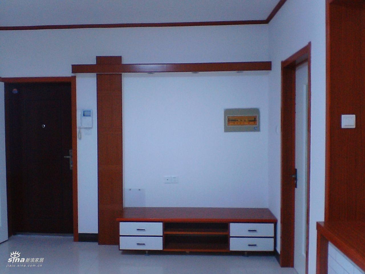 鞋柜与挂衣柜一体图片 家装秀 新浪装修家居网高清图片